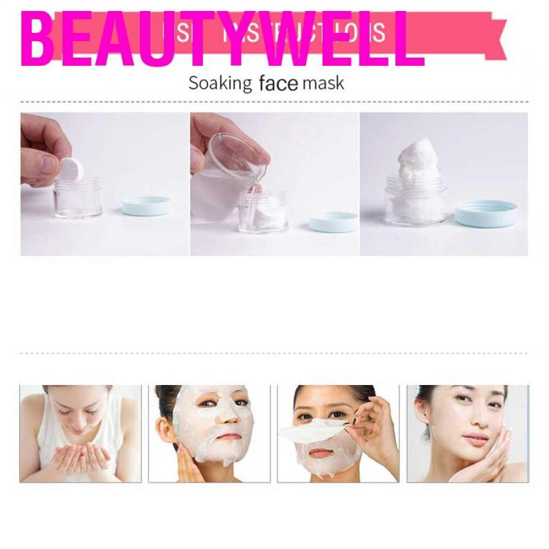 Beautywell 450pcs Disposable Non-woven Compressed Mask Sheet Paper Skin Face Care Beauty Tool