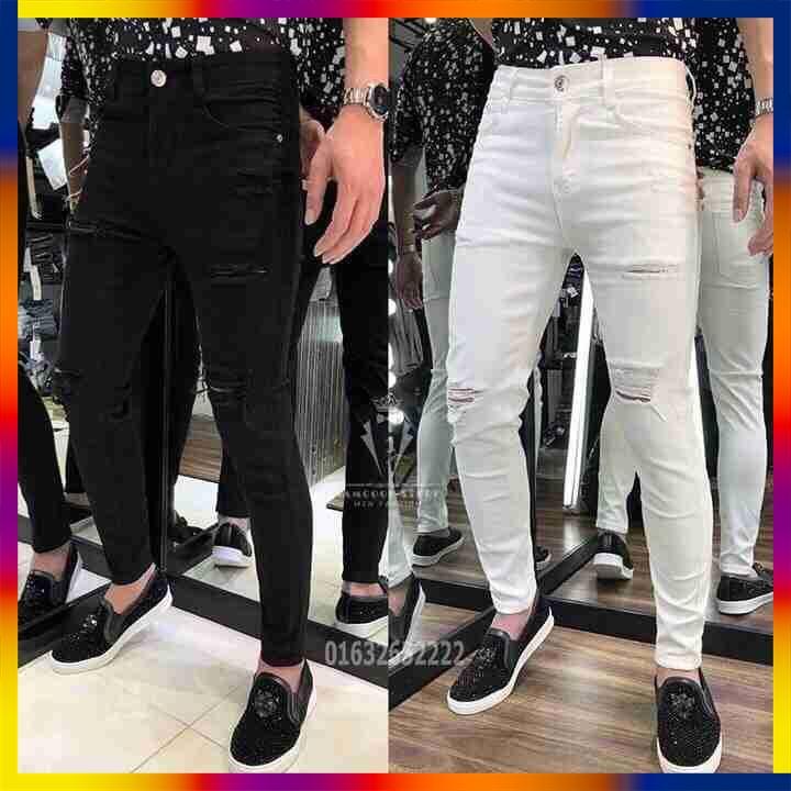 [Sale 50%] quần jean nam cao cấp bao đẹp y hình 100% giá rẻ