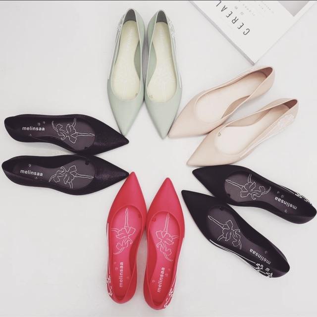[Hàng Order] Giày búp be công sở ngày mưa ( kèm ảnh thật)