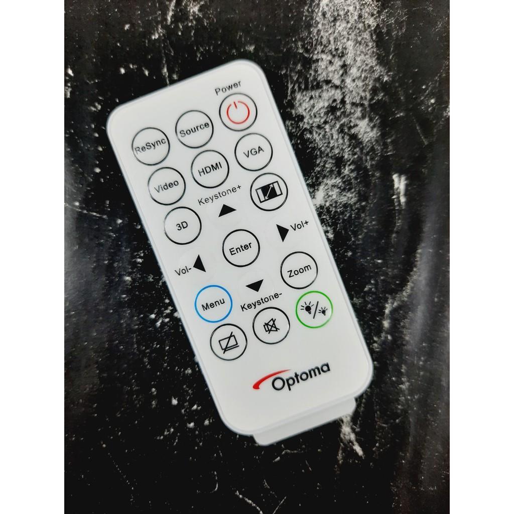 Remote Điều khiển máy chiếu Optoma- Hàng chính hãng mới 100% Tặng kèm Pin