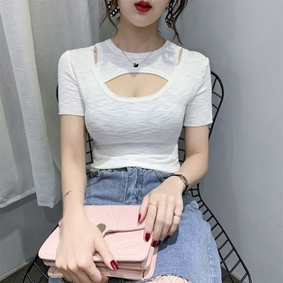 Ready Stock New Women Fashion Casual Lady Beautiful Nice Tops Woman Female OL Womens Clothing