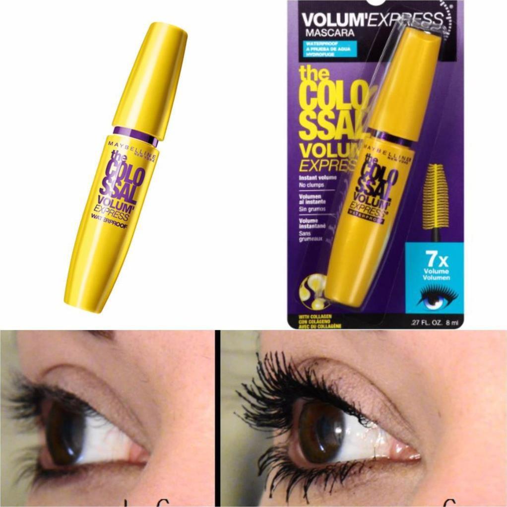 – – Mascara MAYBELLINE 7X Colossal Volum Express 8ml – 4538954486