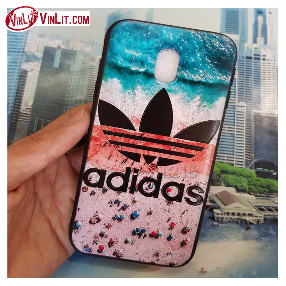 [ Samsung J3 Pro ] J3R1813033 Ốp lưng silicon thể thao Adidas – mẫu đẹp – in nổi 3D