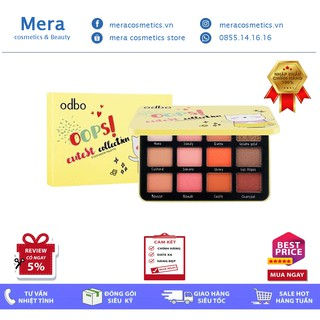 Bảng Mắt ODBO Oops! Eutest Collection Eyeshadow Palette