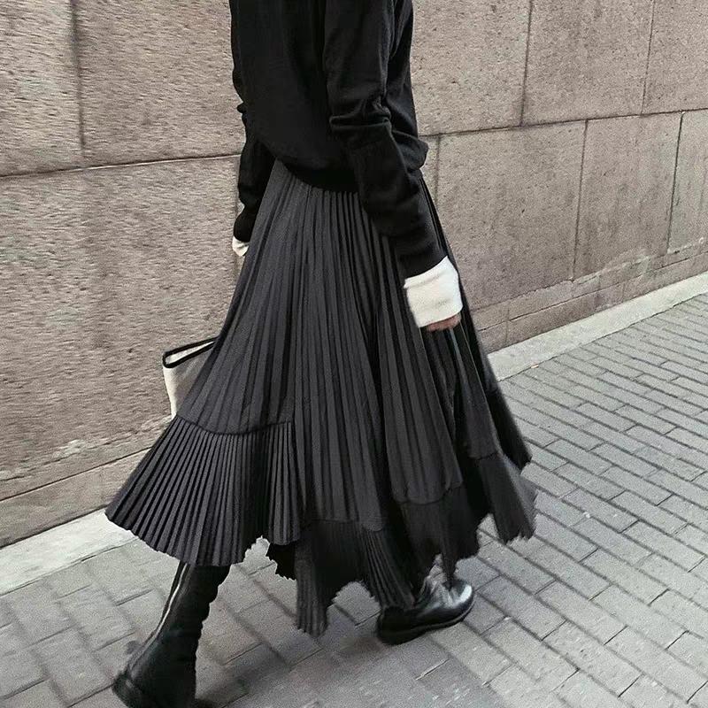 Chân Váy Dáng Dài Thời Trang Sành Điệu Cao Cấp Cho Nữ