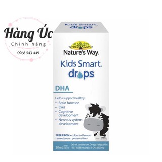 DHA Drop Nature's way 20ml💥FREESHIP💥Bổ Sung DHA cho bé