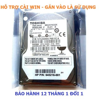 Ổ cứng hdd laptop 2.5