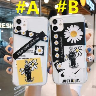 Vivo V5 Plus V5 V5S V5 Lite V7 Plus V7 Y93 Y91C Y95 Y97 Y71 Y75 Y79 Y83 NEX A NEX S Fashion Daisy Couple Soft Case