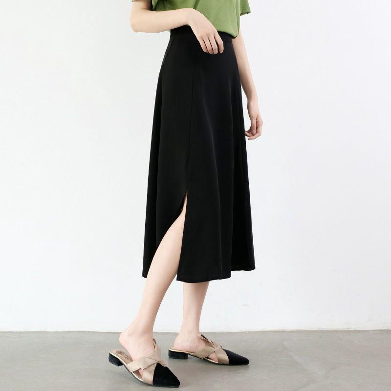 Chân Váy Dài Lưng Cao Xinh Xắn Dành Cho Nữ 2020