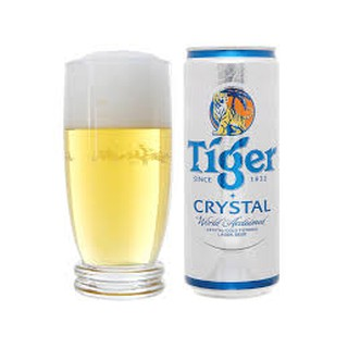 [date T01.2021] Lon Bia Tiger Bạc Crystal 330mloy