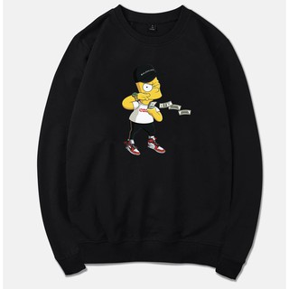 Áo Nỉ ( Sweater ) SIMPSON x SUPREME