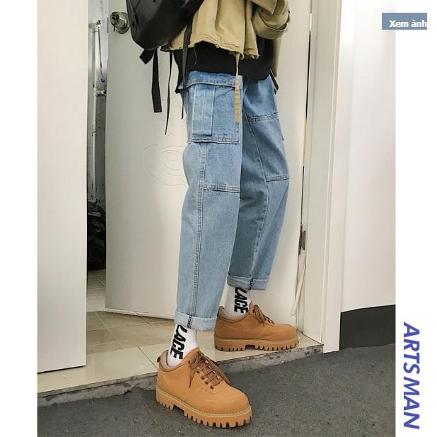 Quần Jeans nam túi bên