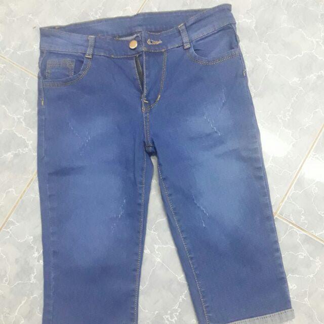 Quần jean lửng
