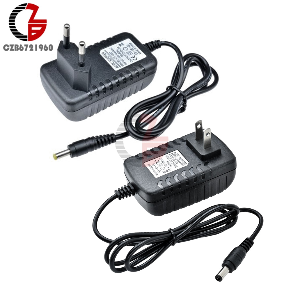 US EU Power Adapter AC 100V-240V to DC 12V 9V 5V 2A 1A Power Supply Transformer Voltage Converter 110V 220V Plug Socket Charger