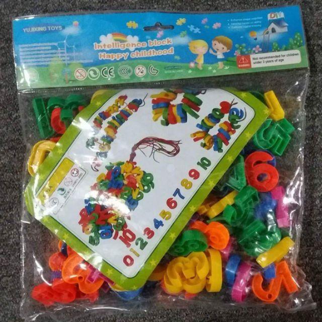 Bộ số và chữ cho bé học