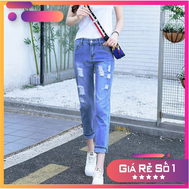 Quần Jeans Baggy Nữ - QQ16