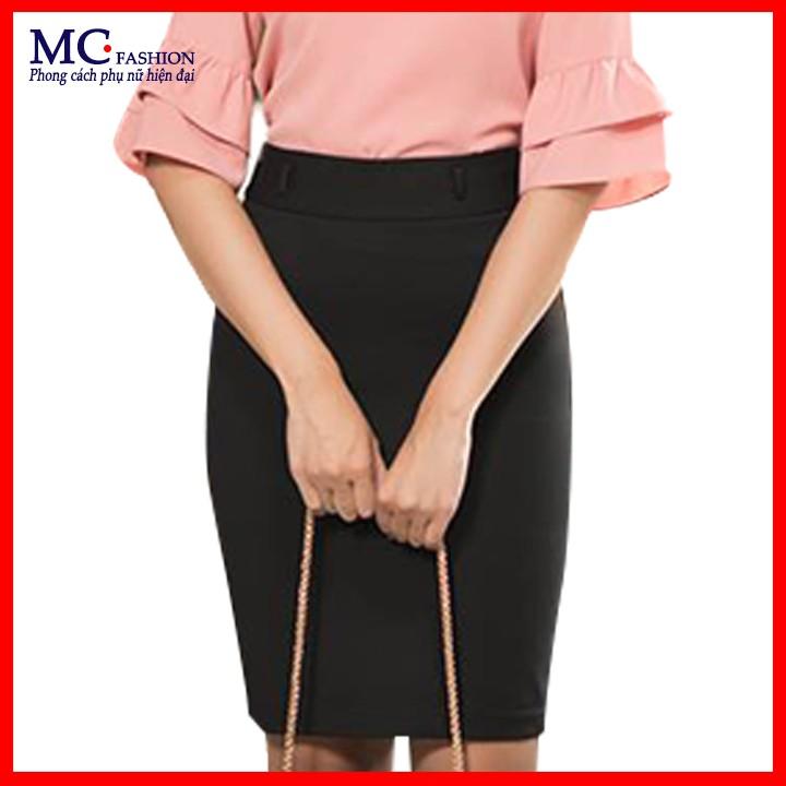 Chân váy bút chì đen đẹp mc fashion cv0365