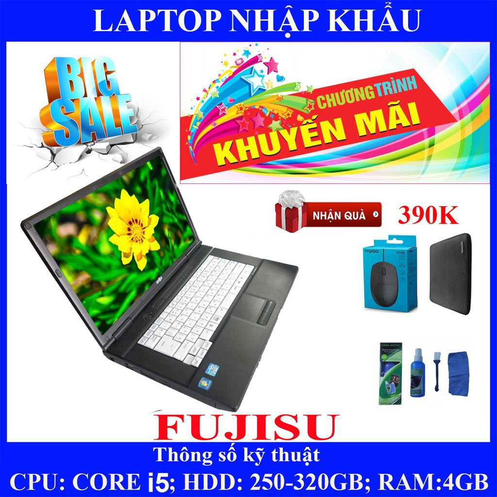 Laptop chơi game fifa 4, pubg mobile,  Core i5, RAM 4G, 250gb #3
