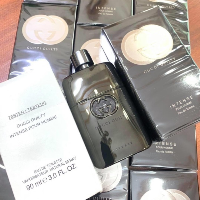 Nước Hoa Nam Gucci Guilty Intense Fullbox: #1650k Gucci Guilty Intense Tester Paco Rabanne Invictus