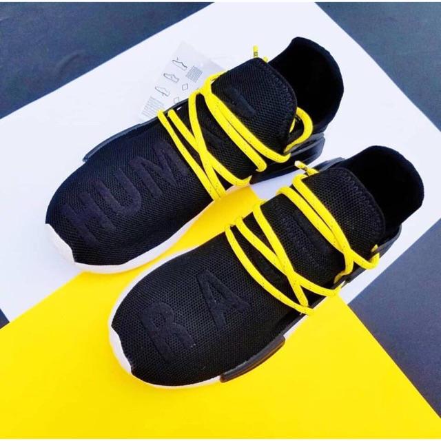 Giày adidas Human Race đen