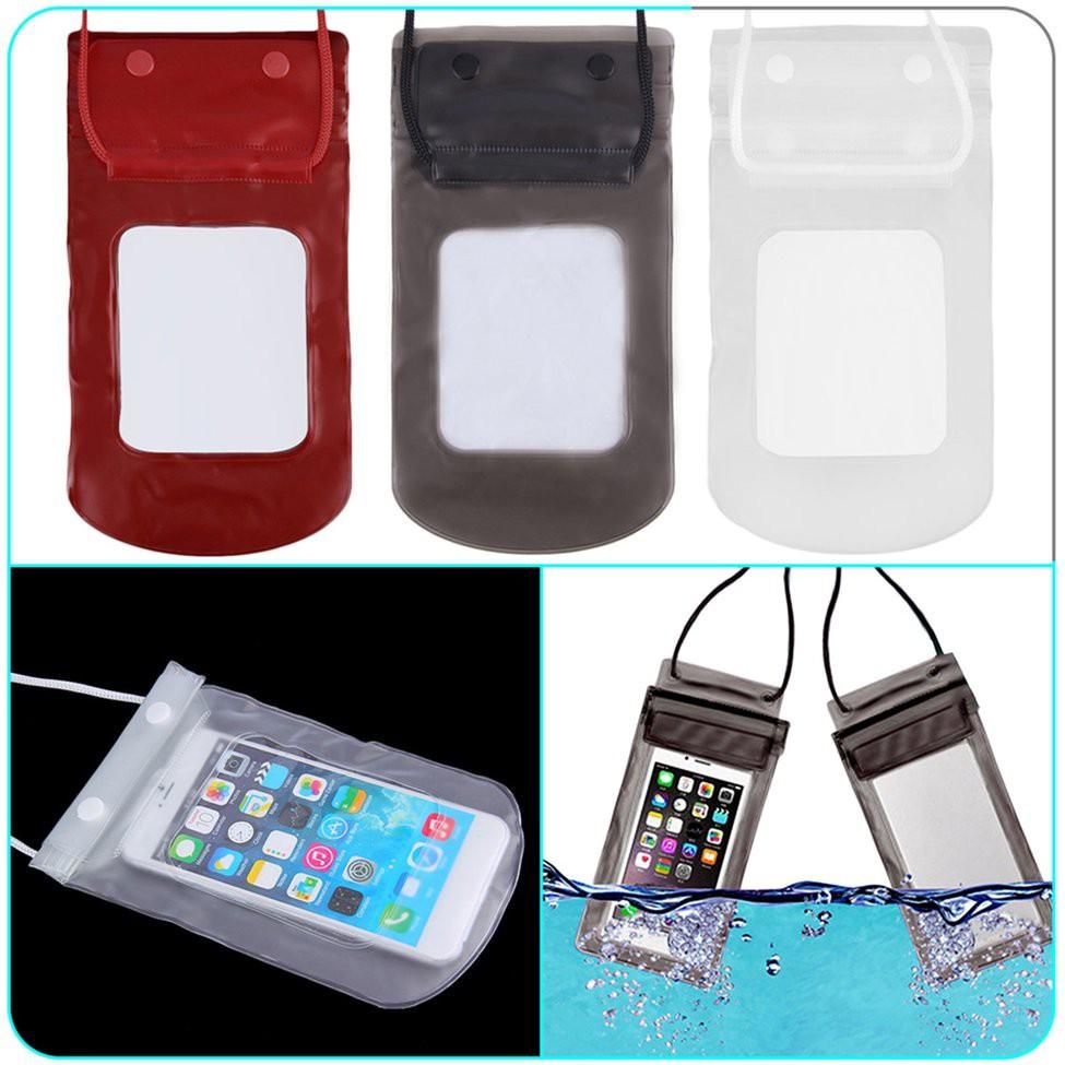 [Mã ELCB07 hoàn 15% xu đơn 99k] 🎐HS🎐Túi đựng điện thoại chống nước trong suốt tiện lợi