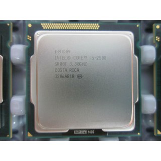 Cpu Intel i5 2500 2nd