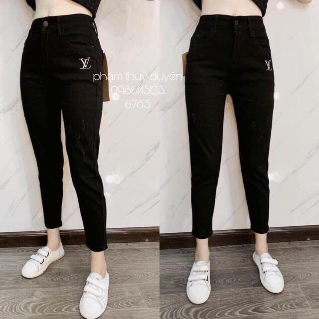 Bán sỉ quần jean bagy đen và xanh