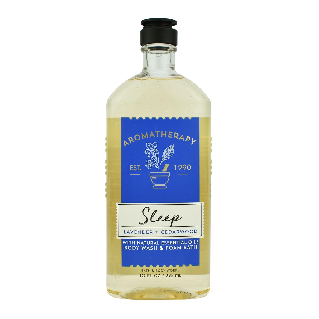 Sữa tắm thư giãn Aromatherapy Bath and Body Works 295ml