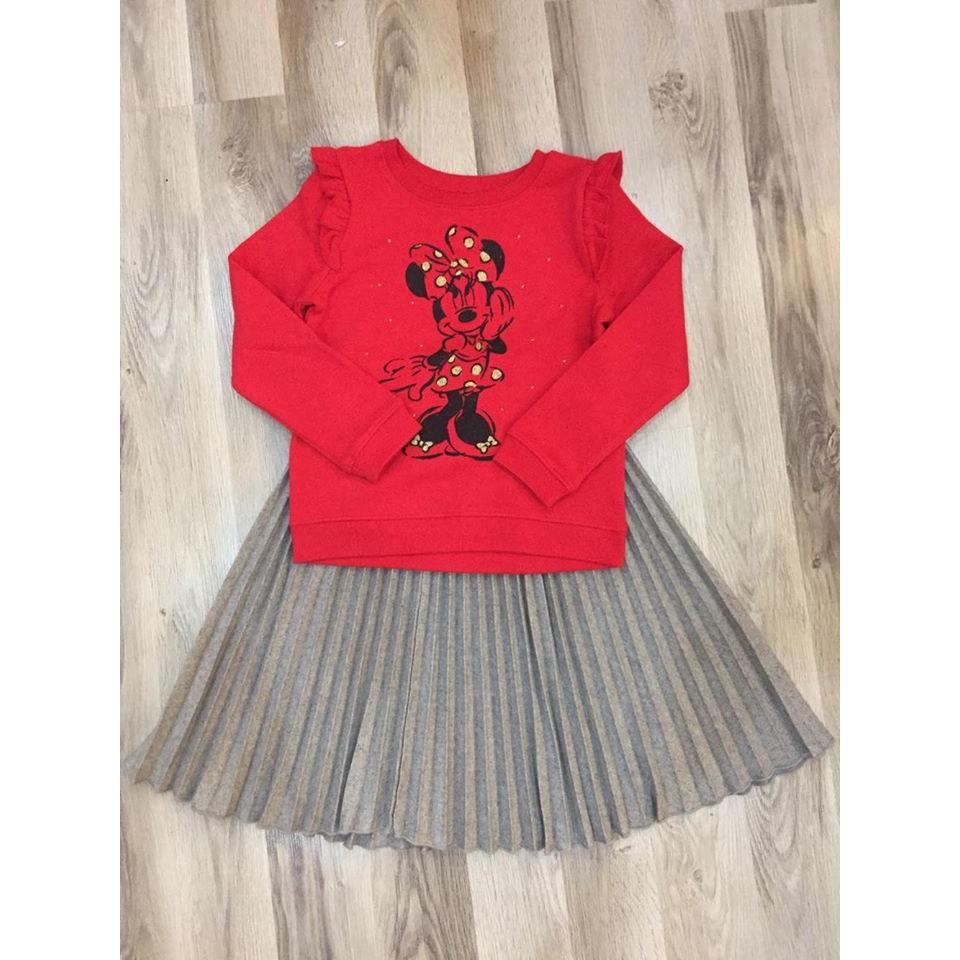 Chân váy dạ mini xuất Hàn
