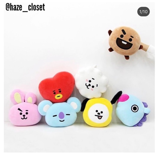 Gấu bông Mochi cushion BT21