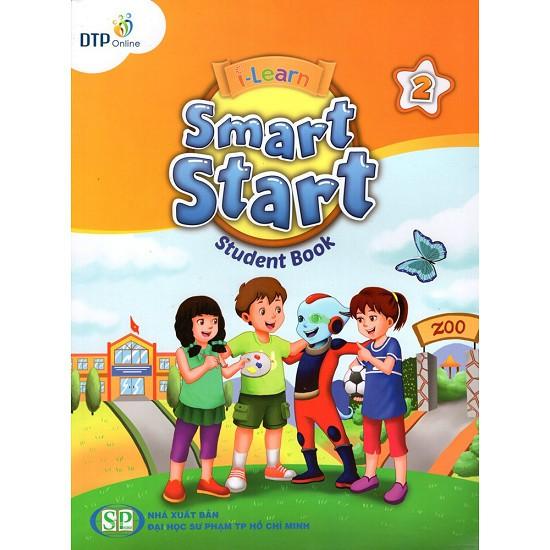 Bộ sách học tiếng Anh I-Learn Smart Start 2 ( studenbook + Workbook + File CD)
