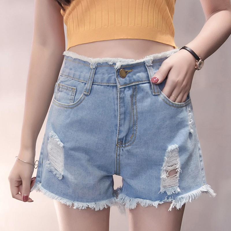 Quần Jeans Nữ Lưng Cao Thời Trang Hàn