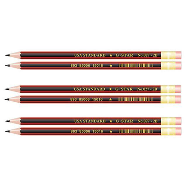 Hộp 12 cây bút chì 2B G-star