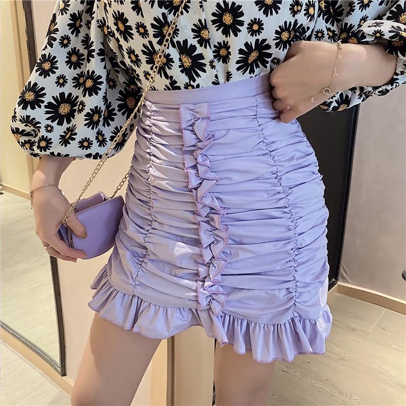 Chân Váy Xếp Ly Thời Trang Hàn Quốc Đáng Yêu Cho Nữ