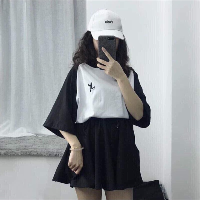Combo set áo cotton + áo 2 dây