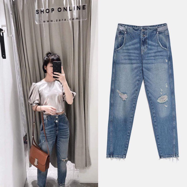 Quần jeans zara size 36 newtag