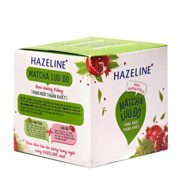 Kem dưỡng trắng rạng ngời Hazeline Matcha Lựu Đỏ 45g-Chính Hãng