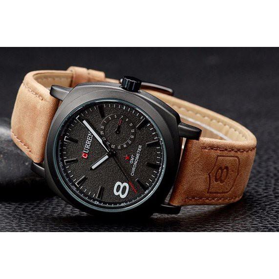 Đồng hồ Curren dây da tuyệt đẹp