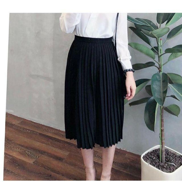 Chân váy xếp ly chất dày đẹp