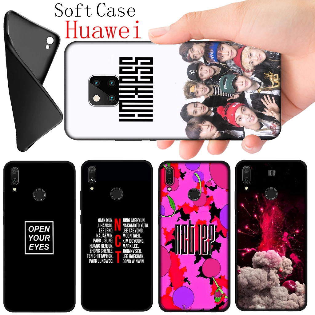Huawei Nova 5T 5I 5 Pro 4E 4 3I 3 2I 2 Lite Soft Black Silicone Phone Case NCT 127 DREAM U