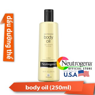 Tinh Dầu Neutrogena Body Oil Light Sesame Formula (250ml) _ NTG003TCS