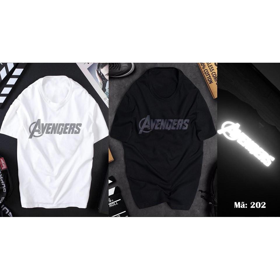 HOT  Mẫu áo thun phản quang Avenger cực ngầu giá siêu rẻ
