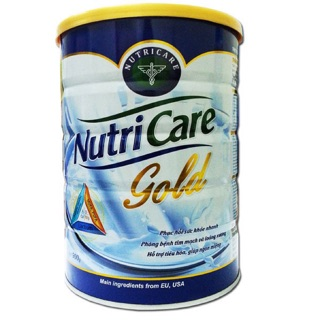 Sữa bột NutriCare Gold lon 900g