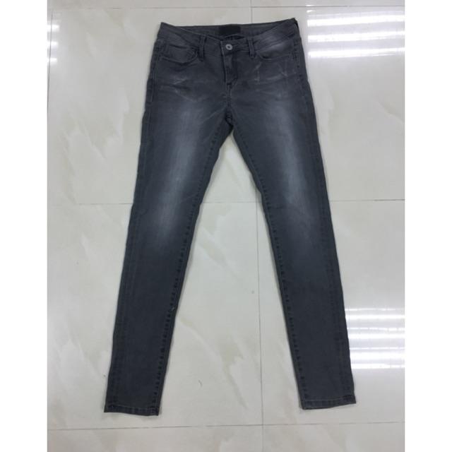 Quần jean skinny xuất