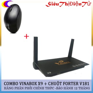 ANDROID TV BOX VINABOX X9 tặng chuột forter
