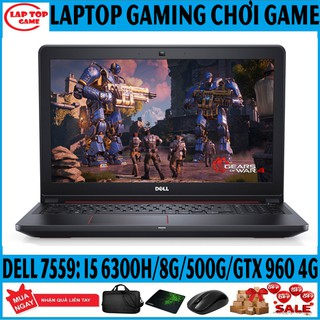 LAPTOP GAMING DELL N7559 CORE i5 6300HQ/ 8G/ 500G/ VGA GTX960 4G MÀn 15,6 FHD Laptop Cũ Chơi Game gaming