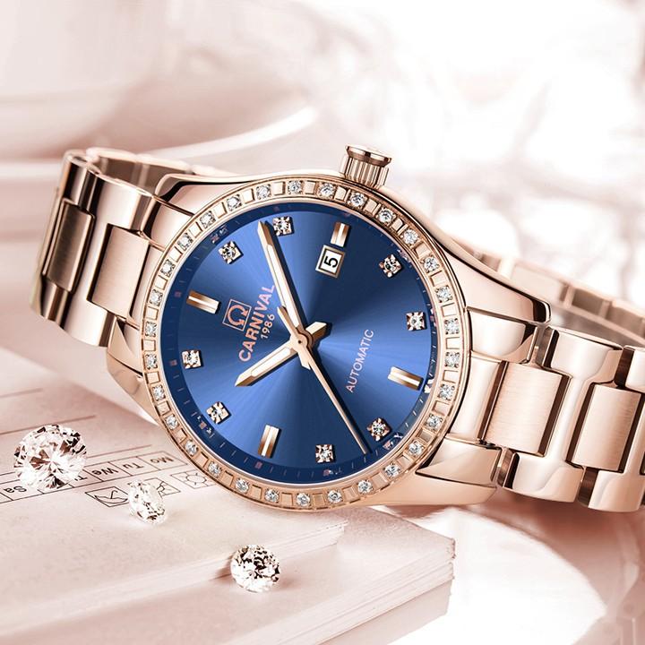 Đồng hồ nữ máy Automatic, kính sapphire L68502.101.414 - DHN1805