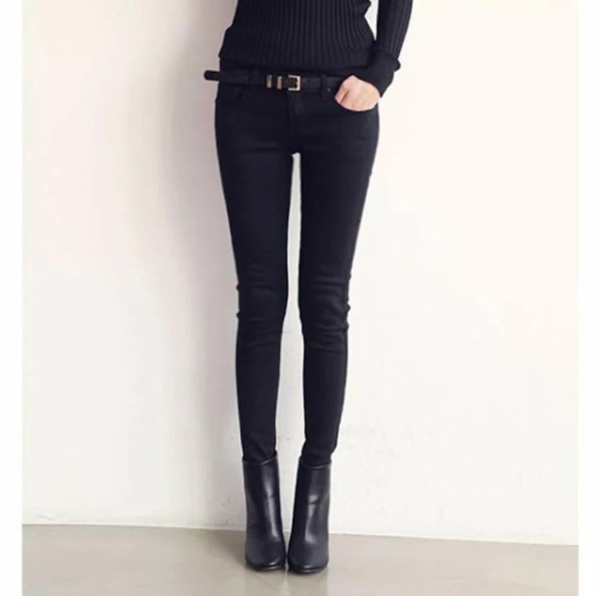 Quần Skinny Kaki thời trang ( đen)