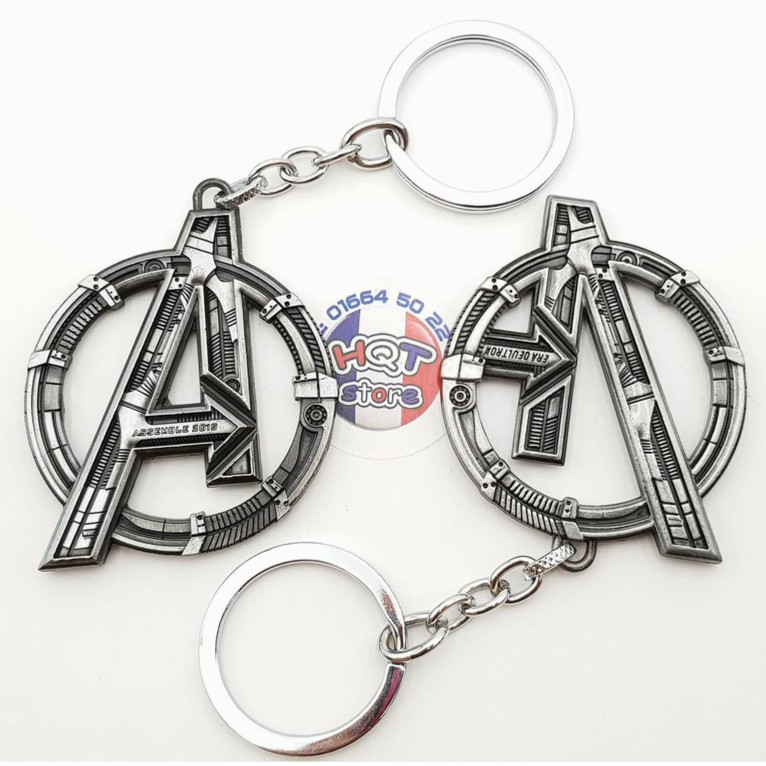 Móc khóa Logo Avengers 2 Age Of Ultron - Infinity War hợp kim cao cấp
