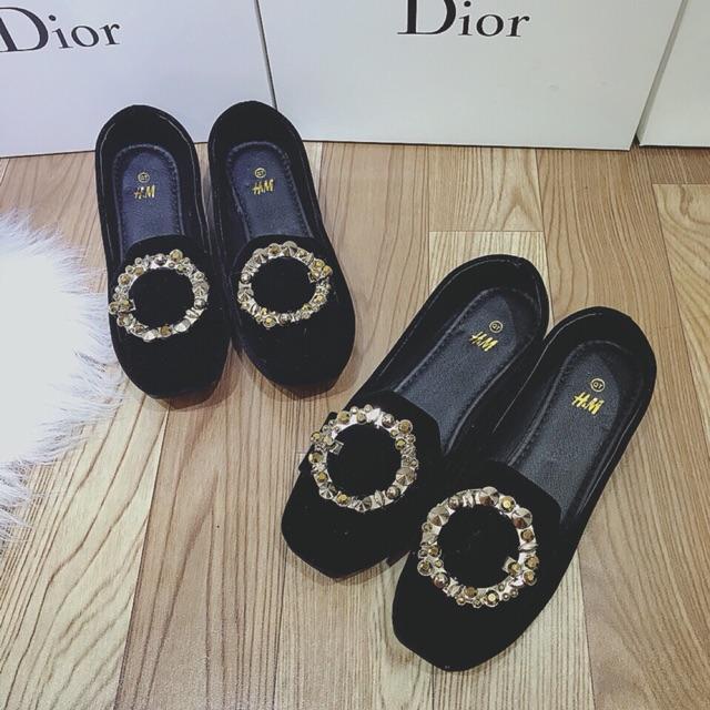 Giày bệt nữ tag tròn ( ib Size trc khi đặt hàng )